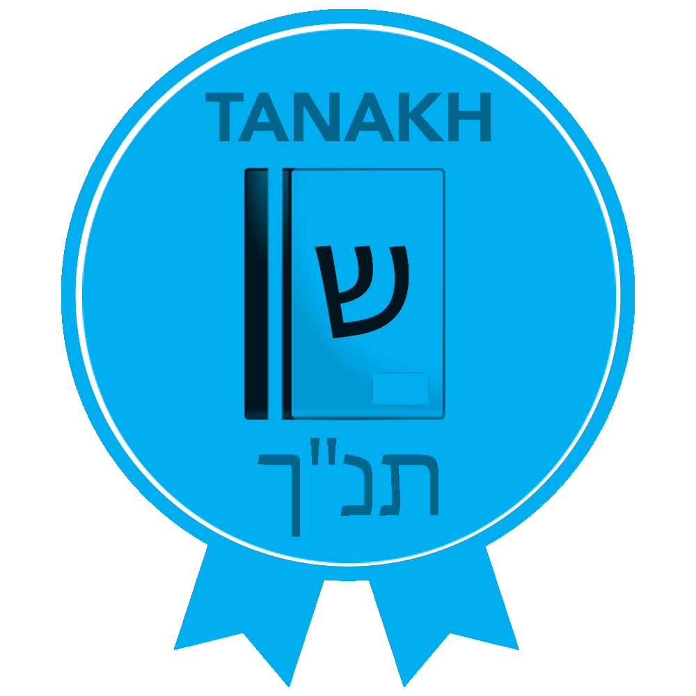 Copy of RTFH Badges Tanakh with ribbon