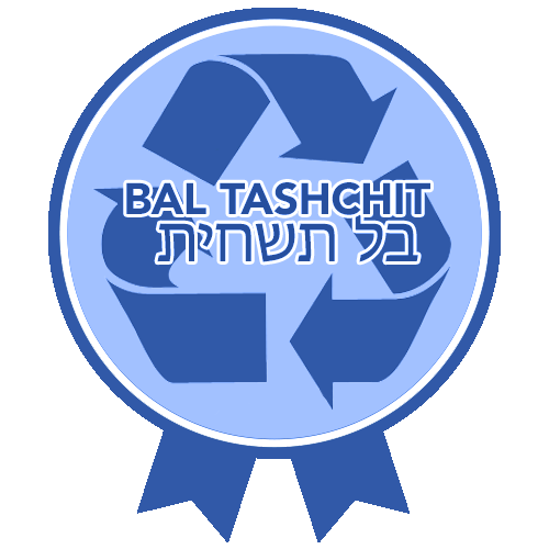 RTFH Badges Bal Tashchit with ribbon
