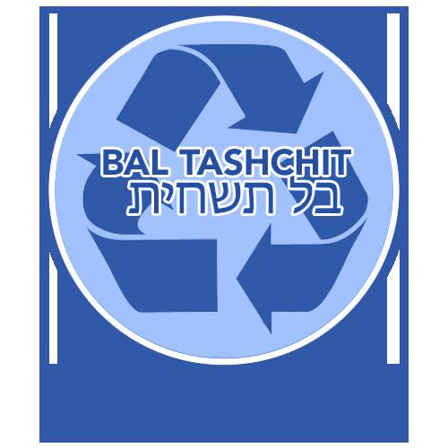 RTFH Badges Bal Tashchit with ribbon