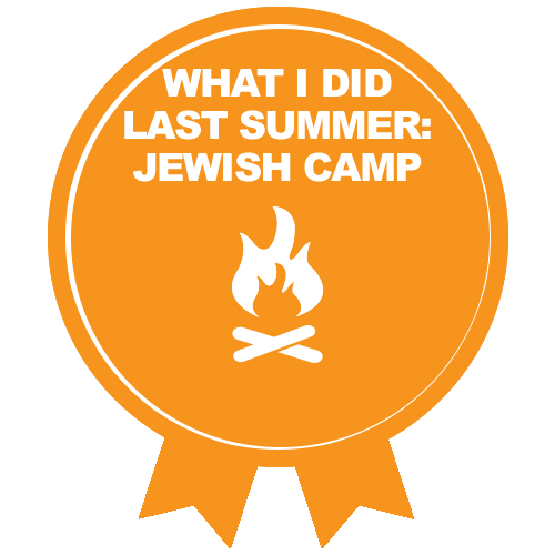 RTFH Badges jewishcamp with ribbon